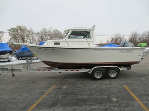Used Parker Boats 2120 Sport Cabin Freshwater Fishing Boat For Sale