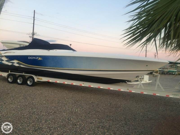 Used Donzi 45 ZX High Performance Boat For Sale