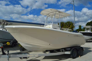 New Cobia Boats 201CC Center Console Fishing Boat For Sale