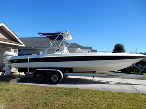 Used Scarab 26 Sport Center Console Fishing Boat For Sale