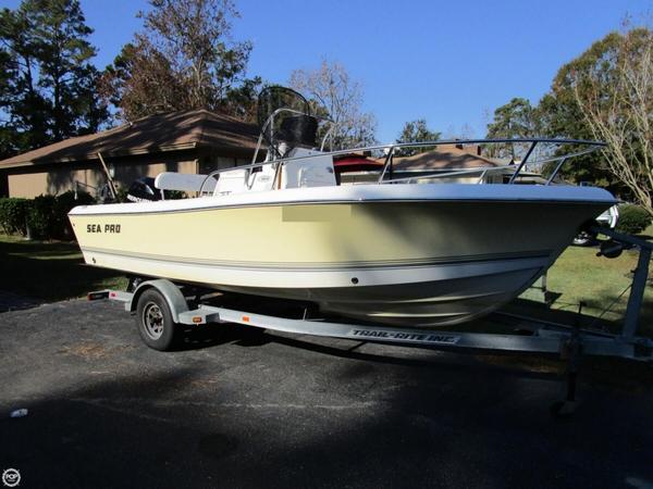 Used Sea Pro 186 CC Center Console Fishing Boat For Sale