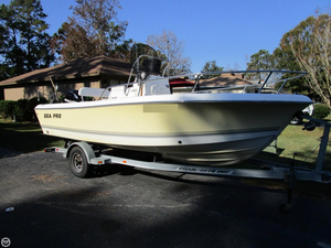 Used Sea Pro 186 CC Center Console Fishing Boat For Sale