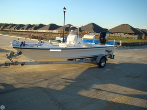 Used Mako 18 LTS Inshore Flats Fishing Boat For Sale