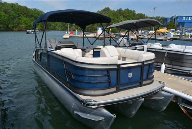 New Aqua Patio AP 235 EL Pontoon Boat For Sale