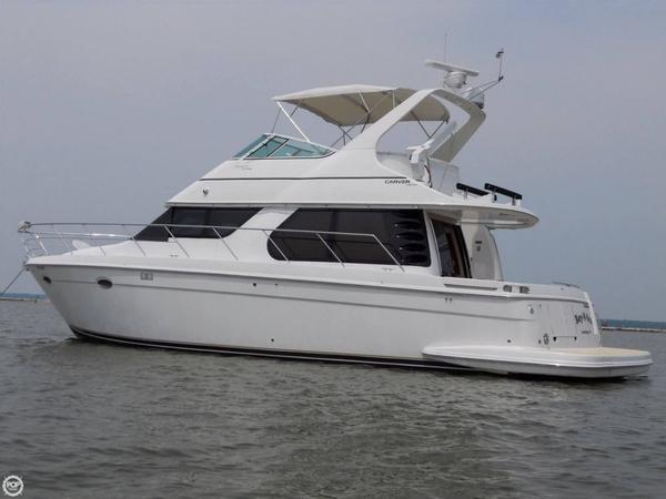 Used Carver Voyager 450 Aft Cabin Boat For Sale