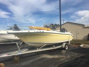 Used Century 2000 Center Console Saltwater Fishing Boat For Sale