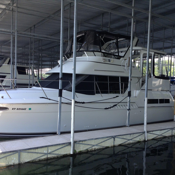 Used Carver 355 Aft Cabin Cruiser Boat For Sale