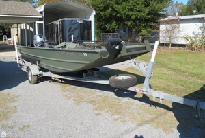 Used Alweld 1860SS Aluminum Fishing Boat For Sale