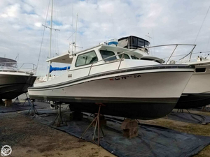 Used Manning 28 Downeast Fishing Boat For Sale