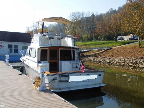 Used Egg Harbor 35 Sport Fisherman Sports Fishing Boat For Sale