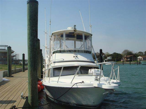 Used Blackfin Convertible Flybridge Cruiser Boat For Sale
