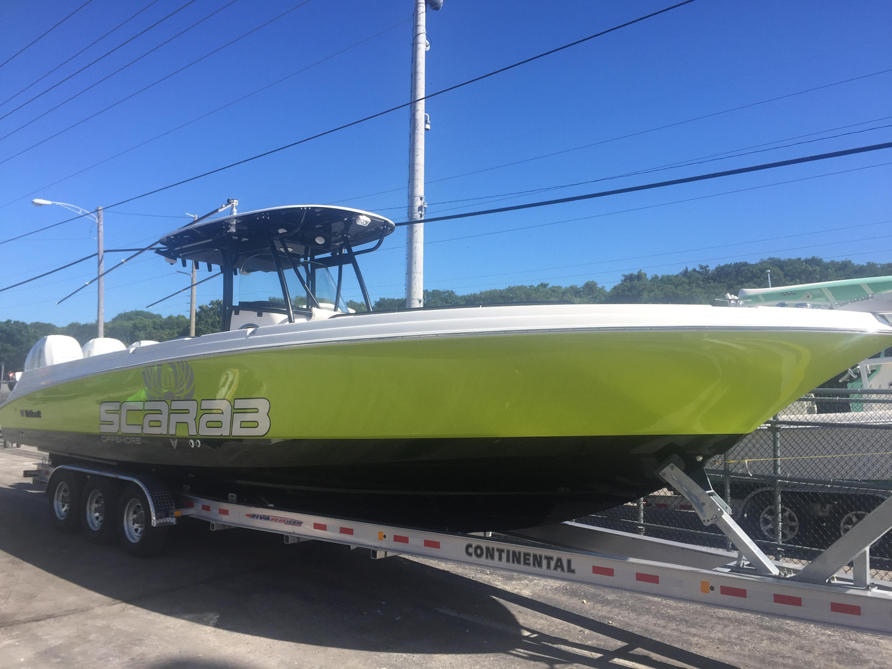 2017 new wellcraft 35 scarab offshore tournament center for Tuna fishing boats for sale
