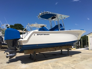 Used Sportsman Boats 231 Heritage Center Console Fishing Boat For Sale