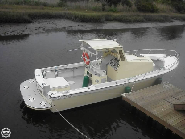 1967 used chris craft custom walkaround fishing boat for for Used fishing boats for sale in eastern nc