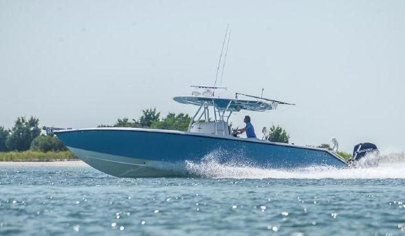 Used Venture 34 Forward Seating Saltwater Fishing Boat For Sale