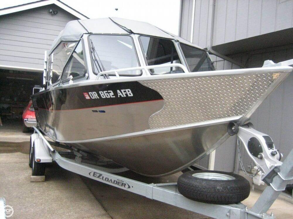2014 used north river 22 seahawk aluminum fishing boat for for Seahawk fishing boat