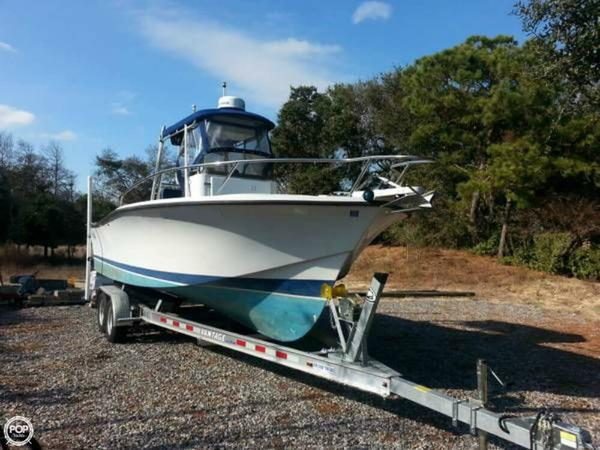 Used Rampage 24 Express Center Console Fishing Boat For Sale