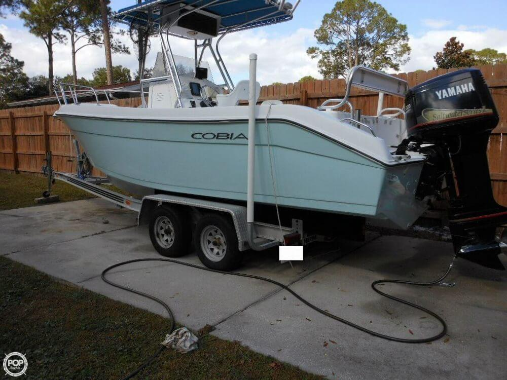 2000 used cobia 244 center console fishing boat for sale for Used center console fishing boats for sale