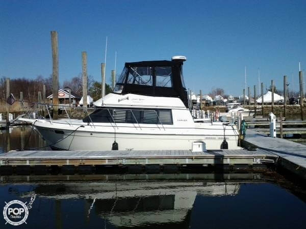Used Carver 28 Mariner Sports Fishing Boat For Sale