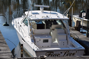 Used Pursuit 3800 Express Saltwater Fishing Boat For Sale