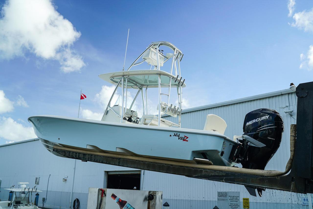 2015 used sea vee 270z bay boat for sale -  139 000