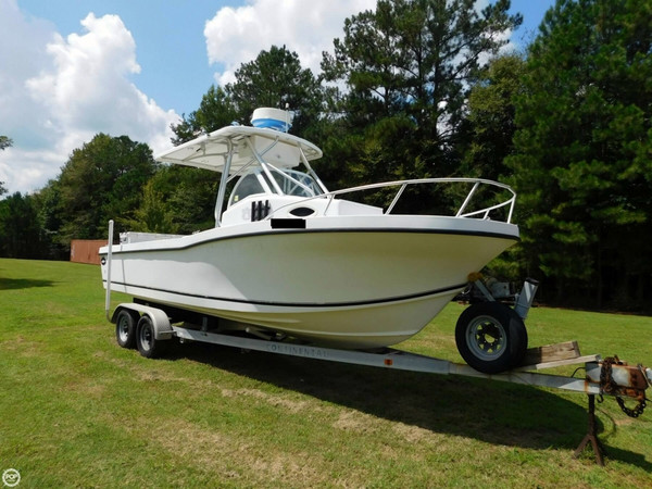 Used Dusky Marine 256 FAC/Keel model Walkaround Fishing Boat For Sale