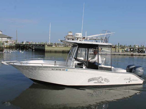 Used Cape Horn 24XS Center Console Fishing Boat For Sale