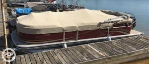 Used Lowe 250 Suncruiser Pontoon Boat For Sale