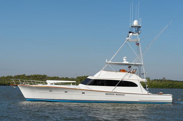 Used Merritt Boat Works Sportfisherman Sports Fishing Boat For Sale