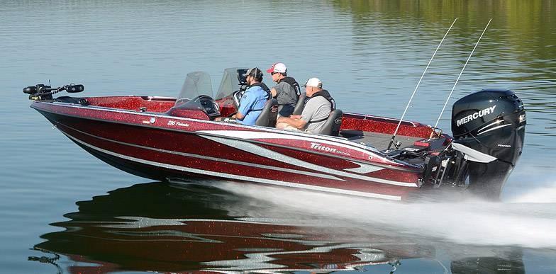 2017 new triton 216 fishunter freshwater fishing boat for for Freshwater fishing boats