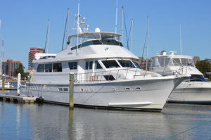 Used Hatteras 78 Cockpit Motoryacht Motor Yacht For Sale