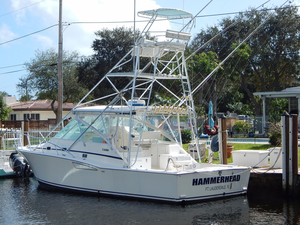 Used Cabo Yachts 35 Express Cruiser Boat For Sale