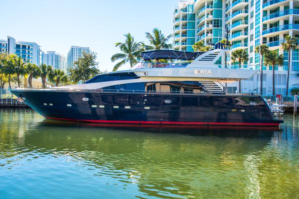 Used Horizon Raised Pilothouse Boat For Sale