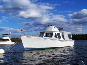 Used Dyer Express Cruiser Boat For Sale
