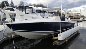 Used Jupiter 2000 31 Cuddy Cabin Boat For Sale