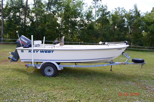 Used Key West 1720 CC Center Console Fishing Boat For Sale