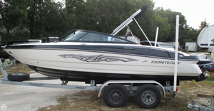 Used Monterey 204FSX Bowrider Boat For Sale