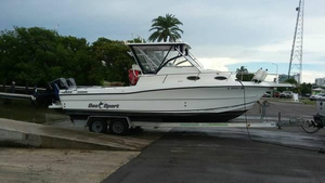 Used Sea Sport 2800 Walk Around Saltwater Fishing Boat For Sale
