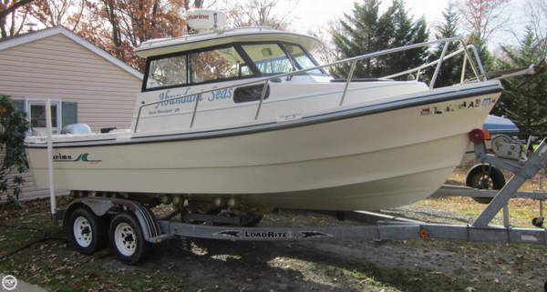 Used Arima 21 Sea Ranger HT Walkaround Fishing Boat For Sale