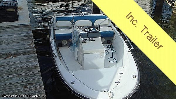 Used Boston Whaler 15 Jet Outrage Center Console Fishing Boat For Sale