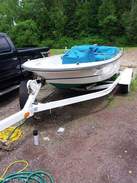 1994 used boston whaler 15 jet outrage center console for Jet fishing boats for sale