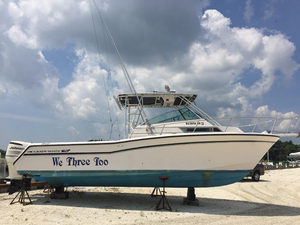 Used Grady White 280 Marlin Walkaround Fishing Boat For Sale