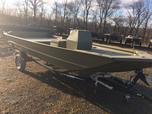 New Lowe Roughneck 1760 Pathfinder Tunnel Jet = Jon Boat For Sale