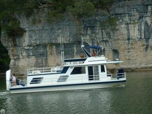 Used Gibson 14 x 44 House Boat For Sale