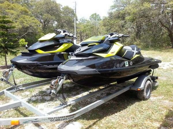 2013 used sea doo 11 supercharged pair personal. Black Bedroom Furniture Sets. Home Design Ideas