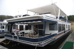Used Sumerset Houseboat 18 X 85 House Boat For Sale