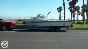 Used Sea Master 2588 Walkaround Fishing Boat For Sale