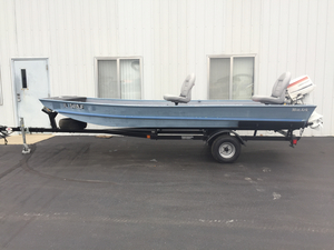 Used Monark 1648 Center Console Fishing Boat For Sale