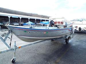 Used Alumacraft Lunker V16 Utility Boat For Sale