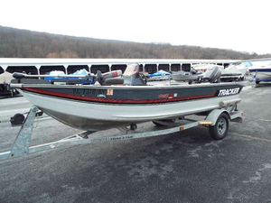 Used Bass Tracker Pro V 16 Freshwater Fishing Boat For Sale